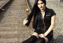 girl metalhead