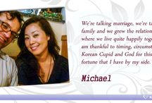 Success Stories / Inspirational love stories of those who have found their partners on KoreanCupid.com