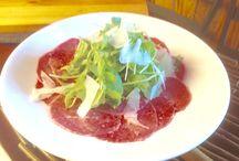 Antipasti and Appetizers / Beef Carpaccio, Seafood Salad, Tomato Caprese, Mediterranean Olive, Crudo, Meatballs, and more!