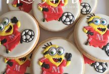 Character Cookies / Minions? SpongeBob? Frosted can create many different characters for your special day!