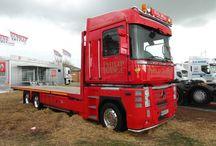 Renault magnum trucks