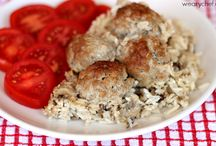 Meat balls with rice