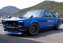 NISSAN SKYLINE GTR / by Masaya Tomonaga