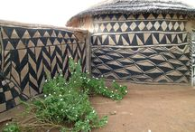 Tribal architecture, huts...