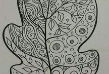 Jeseň - Grafomotorika