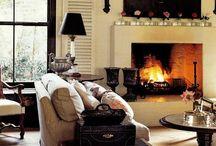 living room inspiration board / by Tara Unger