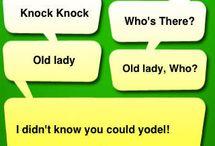 Knock Knock jokes / by Deb