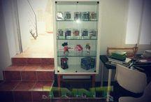 Habitación colección / Habitación dedicada a alojar una colección de figuras de acción.