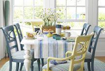 Beautiful Dining Rooms / by Darlene Schacht (TimeWarpWife.com)