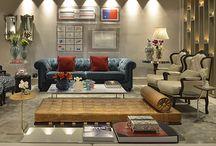 Ambientes decorados / Ambientes decorados com gravuras que você encontra diretamente no nosso site.