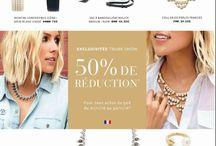 Stella & Dot OFFRE NOVEMBRE / WELCOME NOVEMBER  obtenez -50% sur ces articles dès 50 euros d'achats en passant par ce lien ⤵ http://www.stelladot.fr/ts/7h8pn1