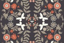 Textile, Print and Illustrations for art and fabric DIY.