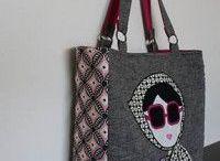 Bolsa de tecido / Bag cloth patchwork