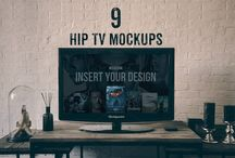 TV Mockup PSD / TV is the best means of advertisement. You can reach millions of audience by using tv advertisements. TV mockup psd are used to present your design on tv screen. Present your ad design on the tv to impress your clients.