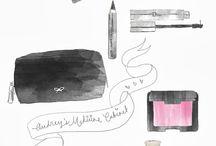 Ilustrações de Maquiagem