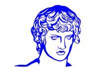 blue/white art / works by 19xx-20xx