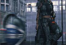 The not so bright future / Post apocalyptic looks, cyberpunk, tribalpunk, dystopia...