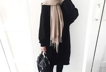 Black Hijab Outfit
