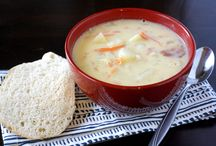 MI Soup / Soup is warming, soothing and easy to put together. Try some of our favorite soup recipes that use milk, cheese or yogurt to boost protein content and deliciousness! / by Milk Means More