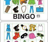 Juegos y Vocabulario en Inglés