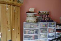 AMG Doll studio / Where I work and create my dolls!