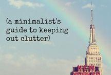 Minimalism / Minimalism