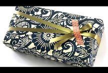 empaquetado de regalos originales / by Estibaliz, El scrap de liz