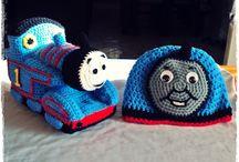 crochet  - Thomas the train