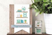 Stampin Up Bookcase Builder