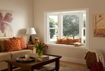 Bay Windows / Now we're talking serious style. A bay window creates dimension. On the outside your home will have a posh, upscale look. On the inside you will create additional seating and a perfect lounging area to read a book or just enjoy the view.   What can we say? We just LOVE bay windows!