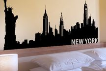 new york browdway theme room / by Tammy Rasak