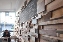 Murs et plafonds - wall and ceiling / by Céline Dufresne