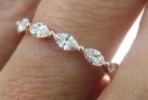 rose gold w/diamond