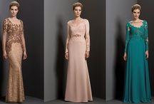 vestidos para mães de noivas