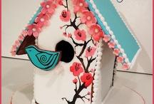 Bird cage cookies