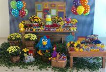 festa de aniversário da galinha pintadinha