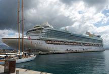 CRUISE SHIP PHOTOS / Cruise ship photos-exterior and onboard