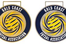 Futsal Medals / Medals Australia -Futsal Medals Customised Medal and Lanyards for your club. #FutsalMedals