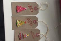 DIY Christmas Gift Tags / Christmas gift tags