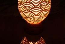 lampe autruche