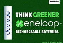 """Panasonic eneloop Rechargeable Batteries / eneloop Ni-MH """"Low Self Discharge"""" batteries utilize Panasonic's advanced rechargeable battery technology allowing them to be recharged up to 2100 times."""