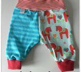 Baby mønster- klær