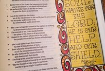 Bible Journaling / by Amy Crowe-Galloway