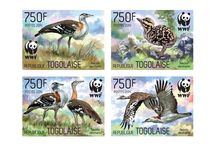 New stamps issue released by STAMPERIJA | No. 395 / TOGO 20 05 2014 Project in co-operation with WWF - Code: TG14323a-TG14323d