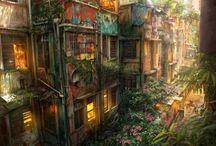 concept art ( paisajes )