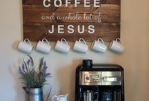 Coffee bar for Coffee Junkies