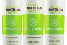 Nutree Professional Products / Nutree professional is a keratin treatment system with high power of regeneration of the hair fiber due to combined action of hydrolyzed keratin and antioxidant properties of Acai and Cocoa.  These natural extracts come from Brazililian Amazon.  Their unique qualitites allow Acai and Cocoa to penetrate the cuticle, rebuild its structure, hydrate and restore damaged hair, while providing smoothness and maximum brightness for up to 20 weeks.