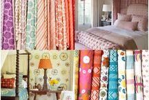 Kathryn M. Ireland Textiles / Fabrics hand-printed to order