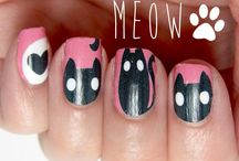 Nail Art - Images & Color / Nail art using great images or colors / by Kori Kaough