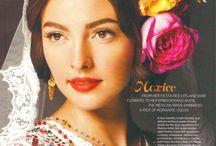 Latina background